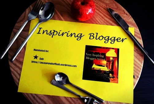The Inspirational Blogger Award