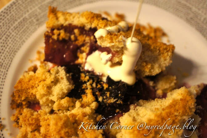 Plum in a crumble…