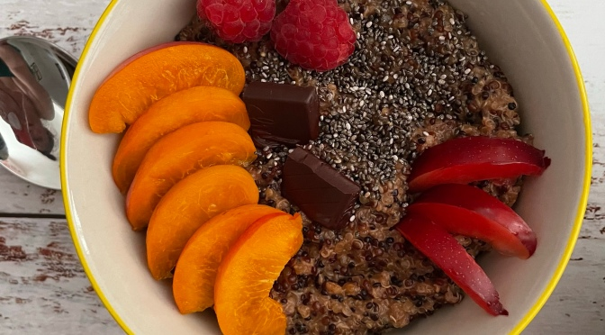Chocolate Quinoa Bowl